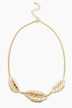 Leaf Route Necklace