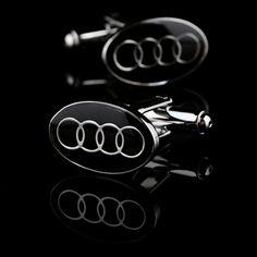 Black Automobile Symbol Cufflinks