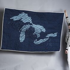 Great Lakes Quilt from Haptic Lab.  Katie Pederson, have you seen these?