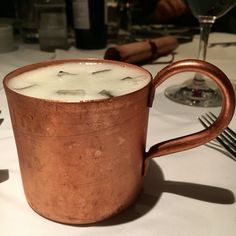 Moscow mule @ Brasserie des Arts, São Paulo