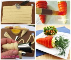 İçi peynir dolgulu havuç torpiller   Mutfak   Pek Marifetli!