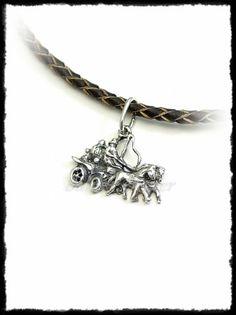 Fogathajtó medál aranyból vagy ezüstből Silver Horse, Equestrian, Pendants, Bracelets, Sports, Jewelry, Bangles, Jewlery, Jewels