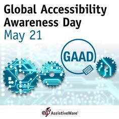 May 21 is Global Accessibility Awareness Day! Today is not about a specific group of people, today is about each and every one of us. At AssistiveWare we believe it is important to design software for universal use. Read more in CEO David's blog post: