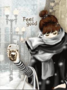 Coffee - Feel Good - Animated Gif