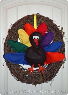 Turkey Wreath!