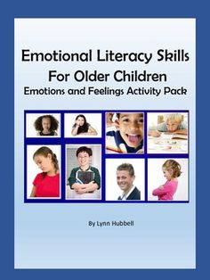 """""""Emotional Literacy Skills for Older Children"""" is an activity packet which gives children practice recognizing emotions in others. Tasks are presented which ask students to identify, label and write about emotions based upon picture cues and written scenarios. Extension activities using provided materials are suggested in the teacher's guide. 4.00"""