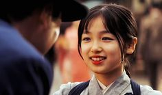 "Suzuka Ohga as Chiyo in ""Memoirs of a Geisha"" (2005)"