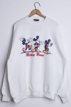 We've got more vintage sweatshirts online! Cute Disney Outfits, Disneyland Outfits, Cute Outfits, Skater Outfits, Disney Clothes, Emo Outfits, Disney Sweatshirts, Disney Shirts, Printed Sweatshirts