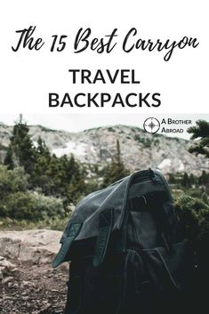 Backpacks that are durable, cheap, hiking ready, designed for women and perfect for digital Nomads - this carryon backpack list has the perfect airline carryon sized backpack for everyone Travel Guides, Travel Tips, Travel Hacks, Travel Gadgets, Travel Advice, Best Carry On Backpack, Backpacking Tips, Hiking Gear, Airline Travel
