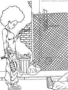Zeichnung von einer Frau mit einer Knarre  http://www.schachow.de/zeichnung-von-einer-frau-mit-einer-knarre/