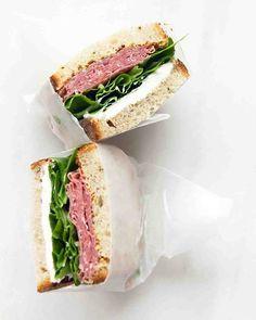 Salami and Cream Cheese Sandwich Recipe