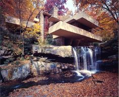 Frank Lloyd Wright, as always, knew what he was doing.