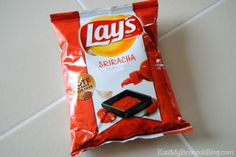 This is WAY easier than buying a bag of chips and putting Sriracha on each chip. Bet you can't eat just one! #Sriracha #MKM915