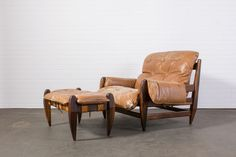 Rosewood Lounge Chair and Ottoman by Jean Guillon  $5500  MIDCENTURY MODERN FINDS