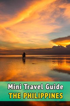 Mini travel guide to the Philippines. Useful tips and information for your travel to the Philippines. When to go, where to stay and eat, how to get around, visa and medical information, and much more.