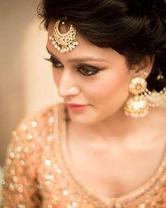 Gorgeous! Isn't it? Makeup Artist : @Anchalkumar_makeup | #bigindianwedding…