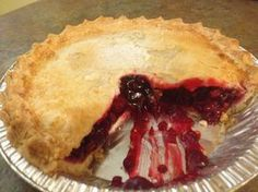 This homemade blackberry pie recipe is found in the recipe boxes of many Amish cooks! Just Desserts, Delicious Desserts, Yummy Food, Pie Dessert, Dessert Recipes, Pastries Recipes, Dessert Ideas, Amish Recipes, Cooking Recipes