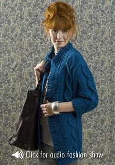 Arusha Jacket By Margret Willson - Free Knitted Pattern - (ravelry)