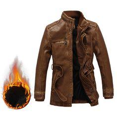 Motorcycle Biker PU Leather Jackets