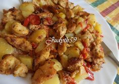 Light Recipes, Poultry, Potato Salad, Cauliflower, Chicken Recipes, Bacon, Paleo, Food And Drink, Favorite Recipes