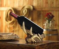 Antler Bottle Holder
