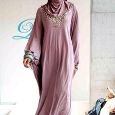 Dusy rose abaya