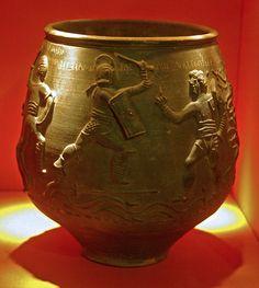 Vas de Colchester: lluita de gladiadors by Sebastià Giralt, via Flickr