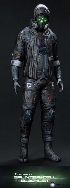 Splinter Cell Blacklist - Ghost Prestige , Vince Rizzi on ArtStation at https://www.artstation.com/artwork/XPWln