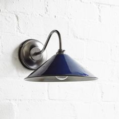 The Imperial Wall Light with Coolie Shade - Gun Metal Swan Neck