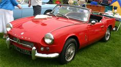 Triumph Spitfire another option for topless classics