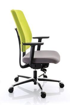 Atria to wygodny fotel pracowniczy, którego zaawansowane mechanizmy zamknięte zostały w prostej, designerskiej formie. Obszerne  siedzisko połączone zostało konstrukcyjnie z ergonomicznie wyprofilowanym oparciem za pomocą charakterystycznego plastikowego panelu, co nadaje krzesłu lekkości i elastyczności. Nieskomplikowana obsługa mechanizmów sprawia, że Atria jest fotelem przyjaznym dla użytkowników. #bejot #lobos #krzesło #biuro #meblebiurowe #meble #furniture #work #design #chair #wnętrza