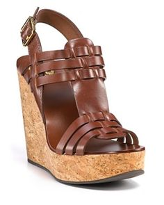 75ec21aa21a8 Tory Burch Wedge Sandal -  200