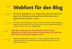 Webfonts im Layout testen auf FontShop.com