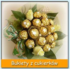 Bukiety z cukierków