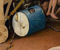 ❤ - HIERONYMUS BOSCH (1450 - 1516) - Triptych The Garden of Earthly Delights (detail). Museo del Prado, Madrid.