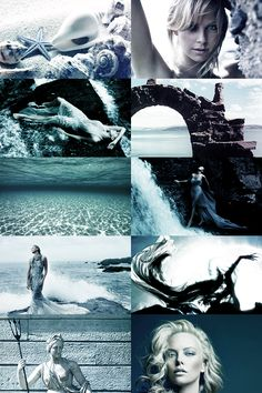 thewinterstag:    Greek mythology casting - Charlize Theron as Amphitrite: queen of the sea