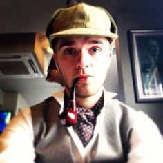 I once meant a rich man who smelled of guano and pain... #Sherlock #Holmes #ChildrenInNeed #Cravat #OddLooks