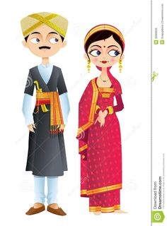 Wedding Couple Of Karnataka -