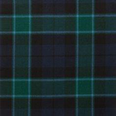 Graham Menteith Modern Light Weight Tartan Fabric-Front