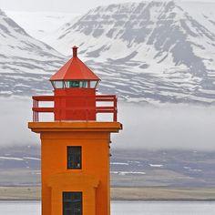 Akureyri lighthouse - Iceland by a.penny, via Flickr