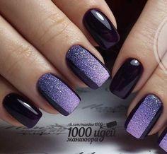 Sexy Nails, Fancy Nails, Cute Nails, Stylish Nails, Trendy Nails, Acrylic Nail Designs, Nail Art Designs, Purple Nails, Manicure And Pedicure