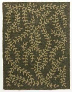 Magic Elf Forest Wool Blanket - Moss (1002)