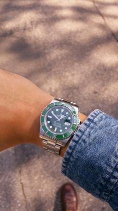 Green Submariner 116610LV