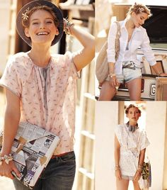 Summer Blouses: 6 New Patterns