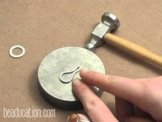 How to Make a Wire Wrapped Clasp : Easy Jewelry Tutorial Jewelry Making Classes, Jewelry Making Tutorials, Jewelry Tools, Metal Jewelry, Silver Jewelry, Wire Tutorials, Jewelry Organization, Handmade Silver, Making Ideas