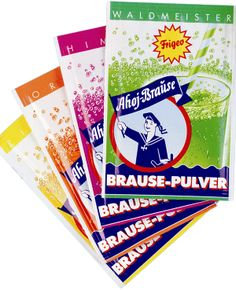 "Frigeo Ahoj-Brause My favorite ""candy"" when we lived in Karlsruhe, Germany (we almost never put it in water!) ;)"