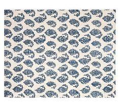 1400 Amur Printed Rug #potterybarn