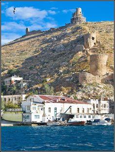 "Балаклава: Balaklava, Crimea, Ukraine .................... #GlobeTripper®   https://www.globe-tripper.com   ""Home-made Hospitality""   http://globe-tripper.tumblr.com/"