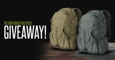 Enter Military 1st Giveaway! Every week you have a chance of winning Helikon Raider Backpack.