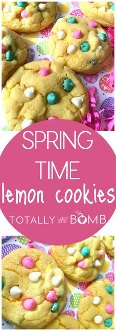 Sometimes the only thing that gets me through the winter is the thought of springtime on the other side. Or more specifically, these Springtime Lemon Cookies.